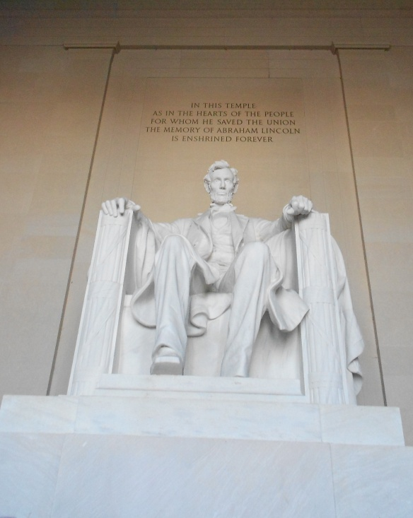 Abe chillin' in DC